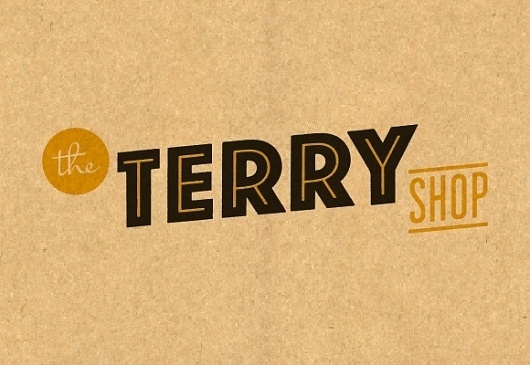 The Terry Shop #shop #design #graphic #ed #terry #logo #nacional