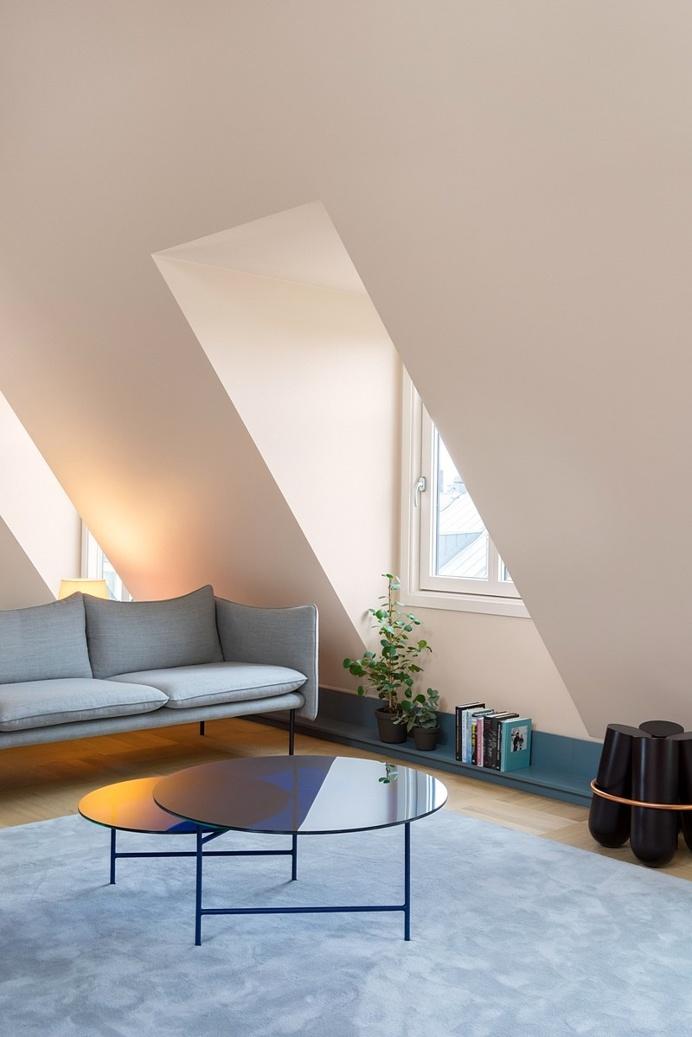 Inner City Blue Loft in Stockholm / Note Design Studio