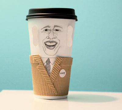 Obama #coffeepals #desimoore #obama