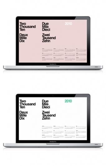2010_Calendar_Wallpaper.jpg 450×700 píxeles #grid #calendar #typography