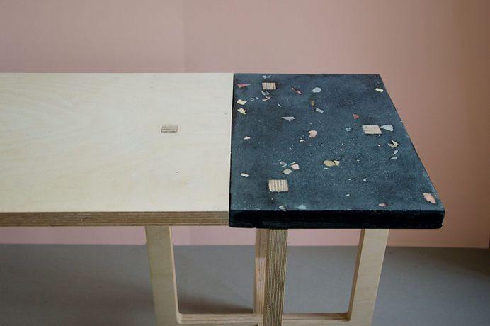 "Florian Wegenast's furniture creates ""temporary gardens"" in small spaces"