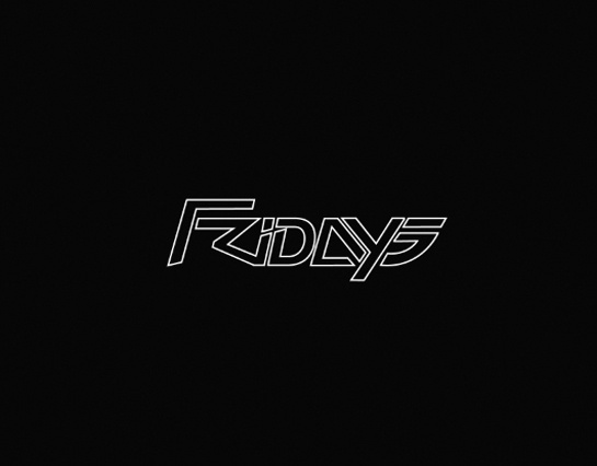 Fast Life Fridays #neon #friday #80s #logo #club