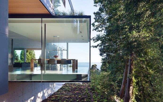 Wonderful views #glass #beautiful #architecture #home