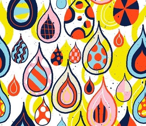 weathersteins_raindrop_pattern-l.png 416×359 pixels #pattern #williams #raindrop #illustration #nate