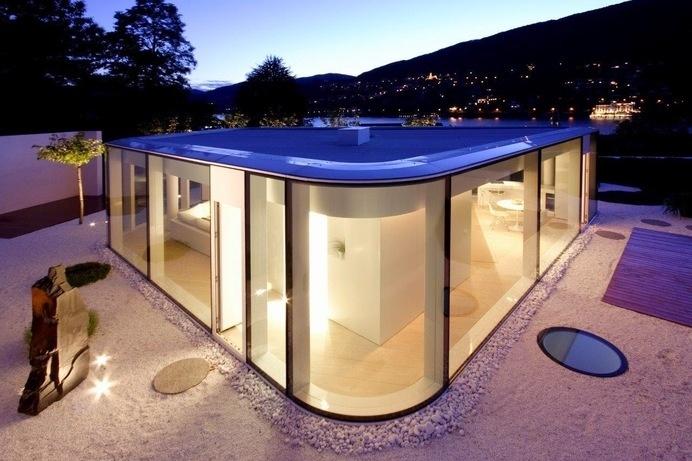 Lake Lugano House by JM Architecture #ideas #interiors #architecture