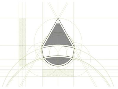 Grid_snowboardclubcervinia_logo #design #grid #identity #snowboard #logo