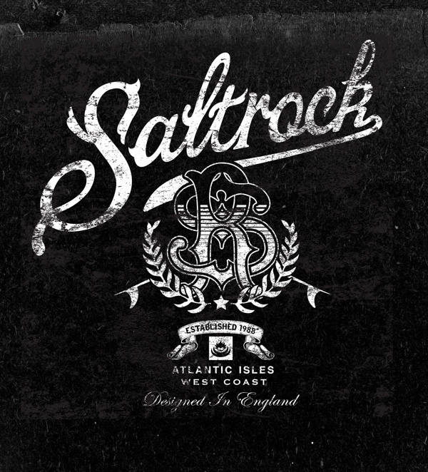 Vintage graphics No.2 on Behance #neil #rock #bleach #salt