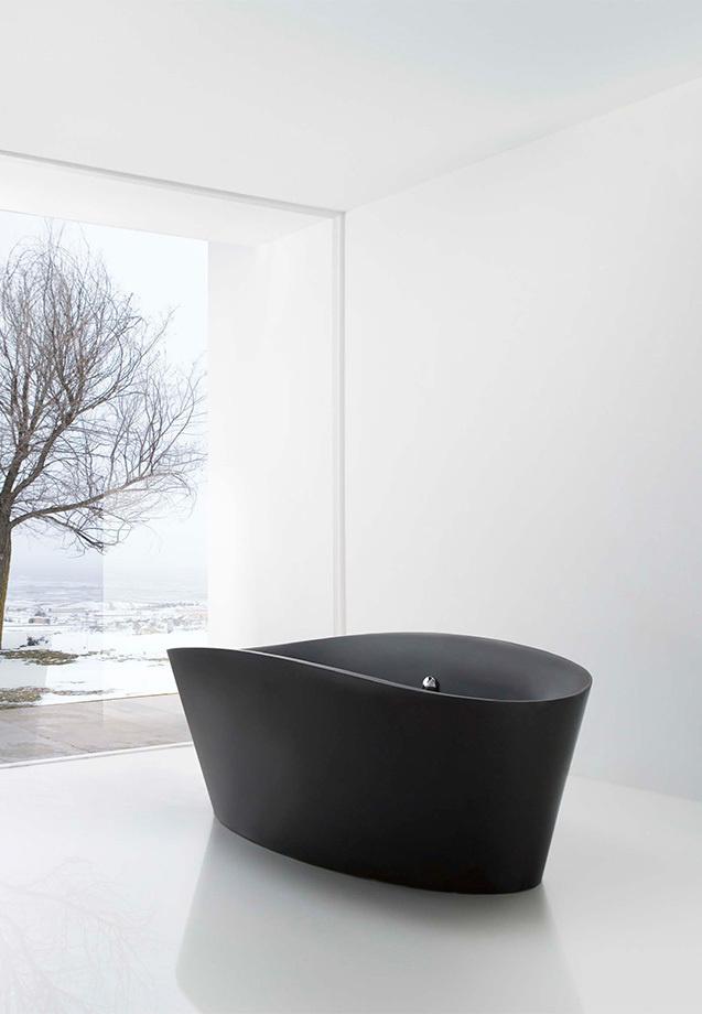 The Design Chaser: Interior Styling | Black Accents in the Bathroom #interior #design #decor #deco #decoration