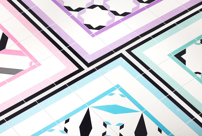 Hidraulik by Huaman #design #geometric #tiles #shapes #photography #carpet