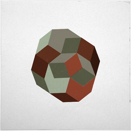 #231 Penrose's asteroid – A new minimal geometric composition each day