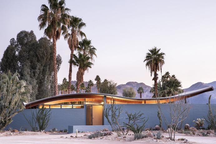 """Miles C. Bates """"Wave"""" House exterior"""