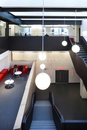 School Of Arts In Cantenbury / HawkinsBrown | ArchDaily #interior #design #architecture