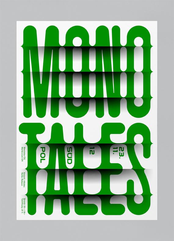 Monotales #feixen #monotales #design #graphic #black #pfffli #poster #risographer #music #felix #green