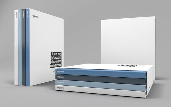 Espace on the Behance Network #print #design #identity