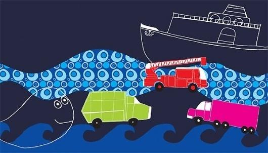 181710_10150090077787582_84319232581_6320409_6925060_n.jpg (JPEG Image, 600x343 pixels) #truck #water #whale #wave #ookie #ship #sea #blue