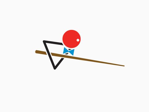 Snookerhallen –Bedow #logo #logotype #pool #identity