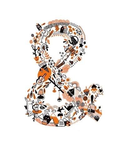 ampersand Art Print by Gemma Correll | Society6 #handjob #print #ampersand #illustration #poster