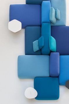 Interior design - products, furniture, deco, design scenes - 5.- PLUS Modular Seating System by Francesco Rota