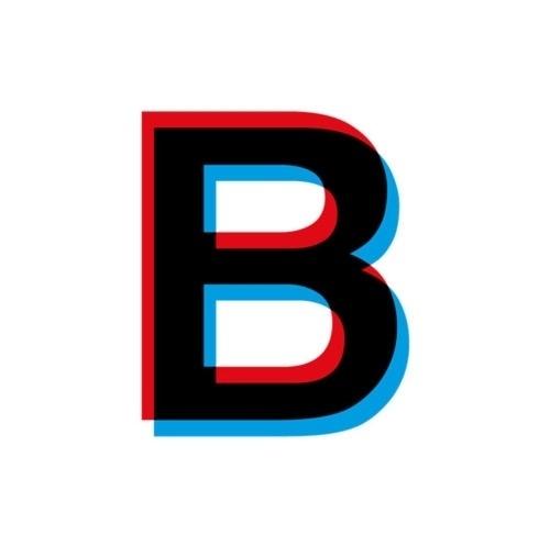 B-log #baeza #bruno #overprinting #bdoble #logo #sobreimpresion