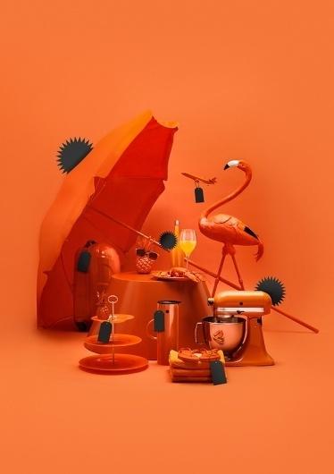 SAVEMYDAY.com on the Behance Network #orange