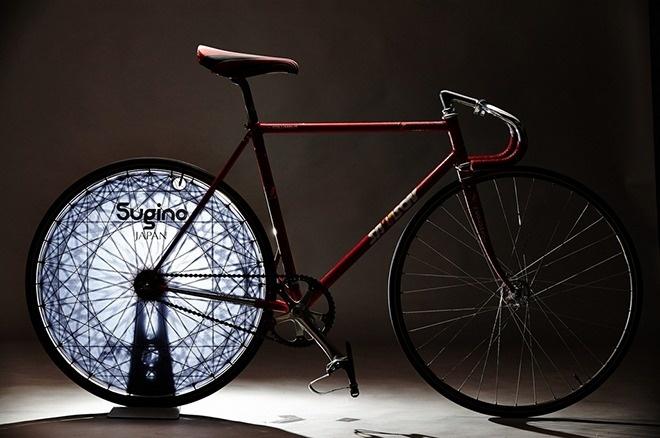 LightBrightWheel #bicycle #track #bike