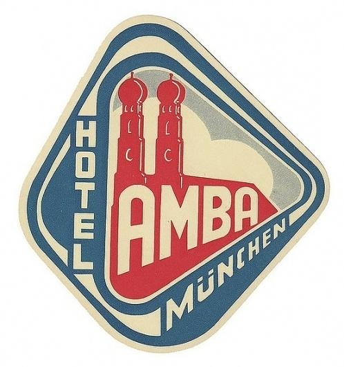 Typography / Hotel Amba #label