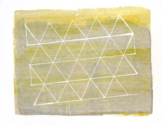 Dan+Bina%2C+Grid+Study+1%2C+acrylic+on+paper%2C+1-7-2012+copy.jpg (JPEG Image, 720x562 pixels) #acrylic #bina #dan #paper #triangle #painting #art #triangles #drawing