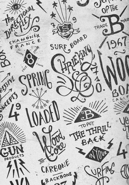Hand lettering by BMD Design #logo #lettering #sketch