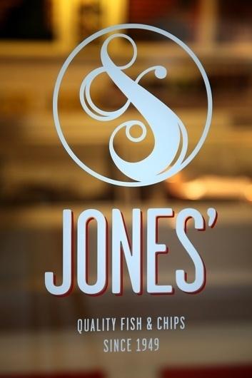 Andreas Neophytou #jones #neophytou #fishchips #brand #logo #andreas