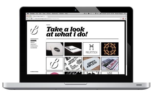 Self Promotion #self #portfolio #design #graphic #clean #website #personal #promotion #web