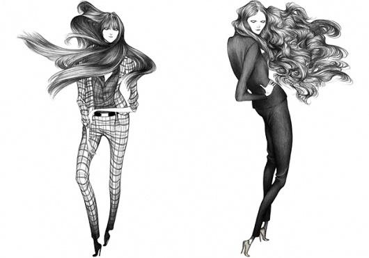 Laura Laine Illustration – Illustration inspiration on MONOmoda #fashion #illustration