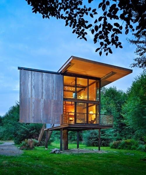 Sol Duc Cabin by Olson Kundig Architects #interior #design #architecture