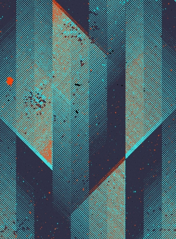Marius Roosendaal iPhone WP (3) #blue #texture