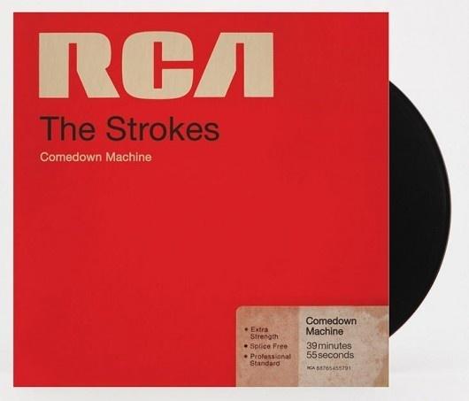 Comedown Machine Cover Art #music #cover #album