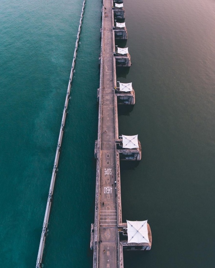 Singapore From Above: Brilliant Drone Photography by Julian Cheong