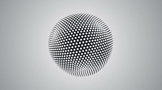Spherikal | Fubiz™ #points #sphere
