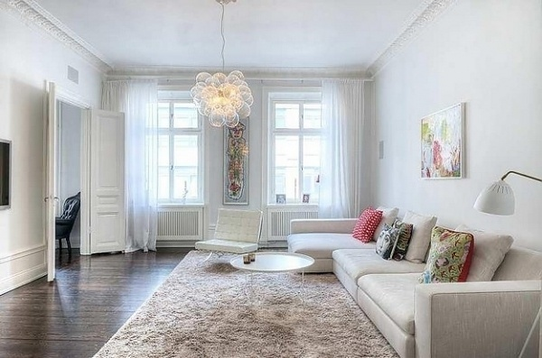 A Swedish apartment with beautiful original details | Interior Design and Architecture blog magazine - Let me be inspired, Get inspired from different #interior #lighting #home