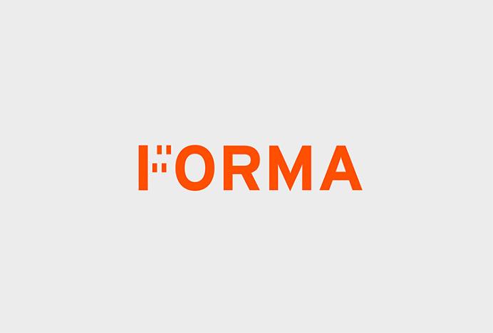 Forma by About Design #logo #logotype #type #orange
