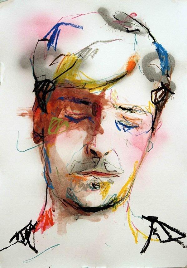 SOMEWHERE on Behance #portrait