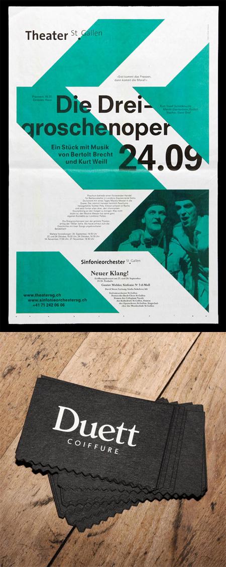 bureau collective #swiss #print #grid #layout #typography