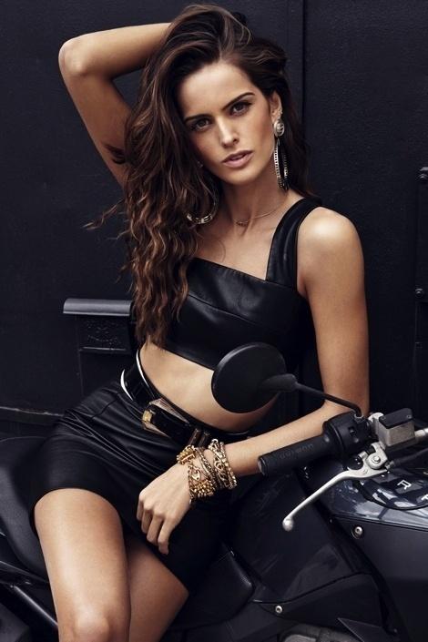 Izabel Goulart by Branislav Simoncik for GQ Portugal #fashion #model #photography #girl