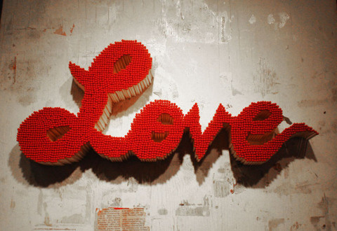 Art Made From Matches by Pei San Ng   PICDIT #red #matches #art