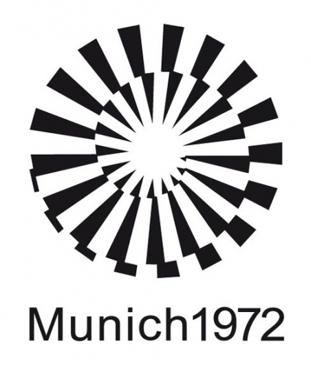 Munich Olympics Graphics, 1972 | ouno #olympic #logo