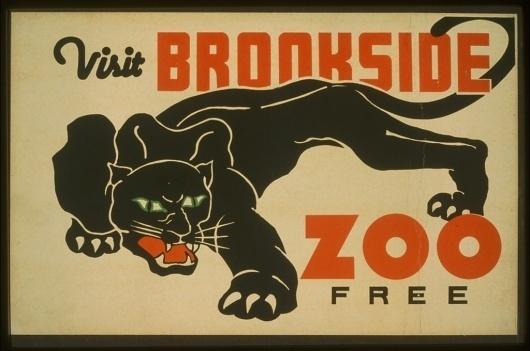 3f05222v.jpg (JPEG Image, 1024x680 pixels) #zoo #illustration #panther #vintage #poster