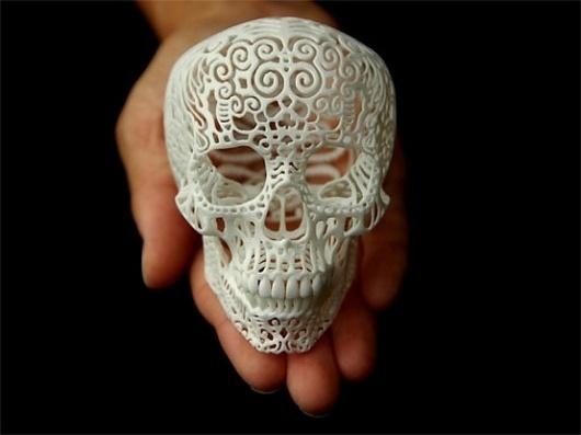 Tactile / Crania Anatomica Filigre, by Joshua Harker. Fucking amazeballs, really blowing my mind away. #Design #Art #Filigree #Sculpture