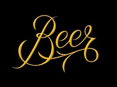 Beerscript_d #logo #typeface