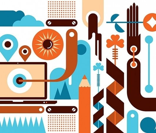 3yz wall - Fernando Volken Togni #illustration