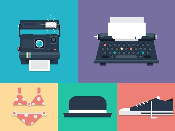 Animation and Motion Graphics Flat Vector Illustration #flat #vector #print #design #color #illustration