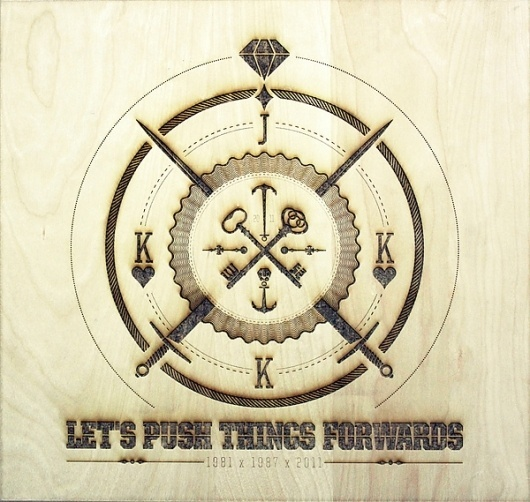 JK Laser on the Behance Network #wood #illustration #engraved #laser