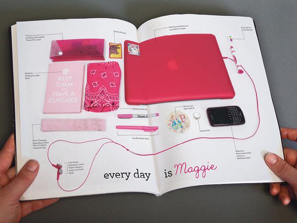 Maggie's Mirror #branding #maggies #store #catalogue #mirror #vintage